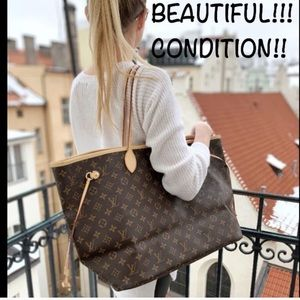 🌟BIGGEST🌟NEVERFULL GM TOTE LOUIS VUITTON